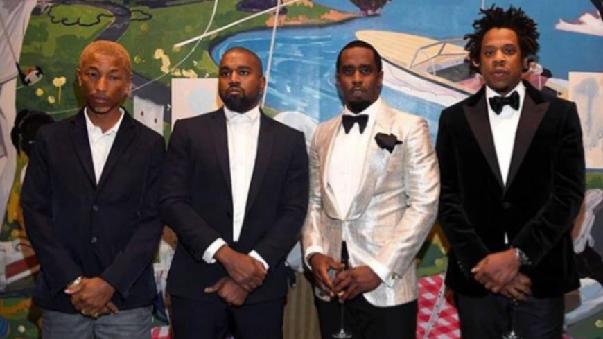 Kanye West et Jay-Z se sont réconciliés à l'anniversaire de Diddy !