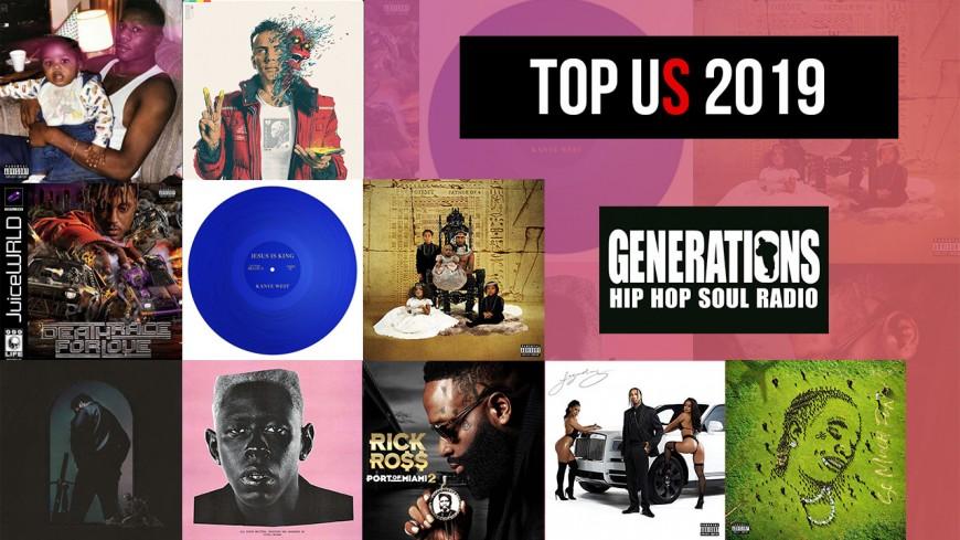 Le top 2019 rap US par la rédaction de Generations !