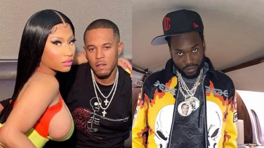 Meek Mill s'embrouille avec Nicki Minaj et son mari !