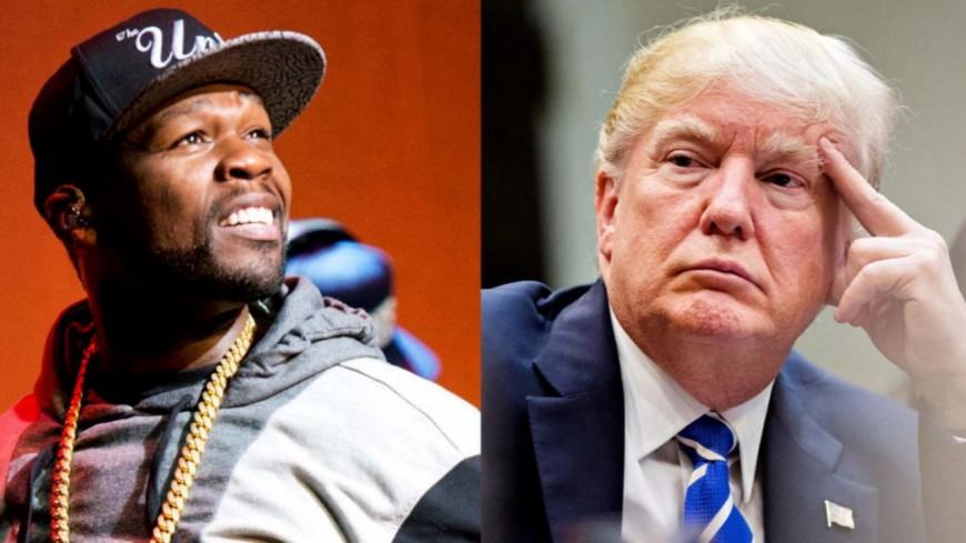 """Pour 50 Cent, Donald Trump est un """"cauchemar"""""""