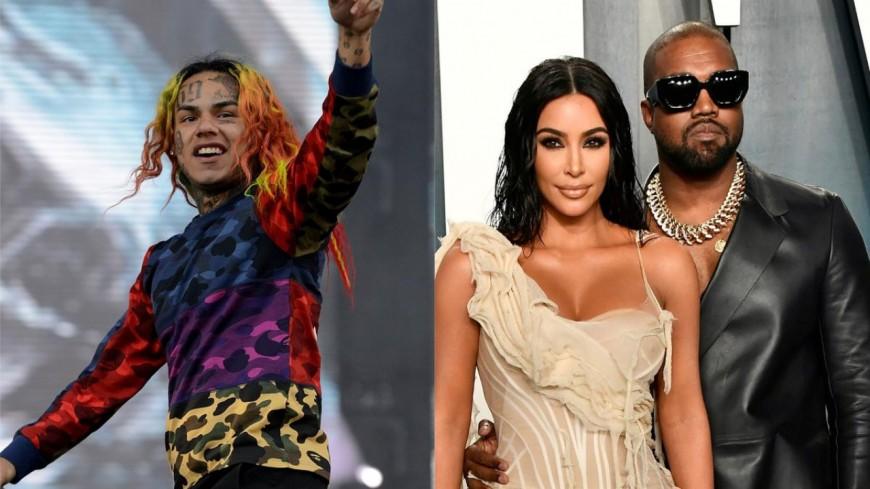 6ix9ine validé par Kim Kardashian et Kanye West ?