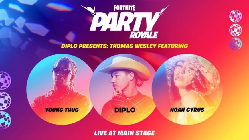Young Thug en concert sur Fortnite