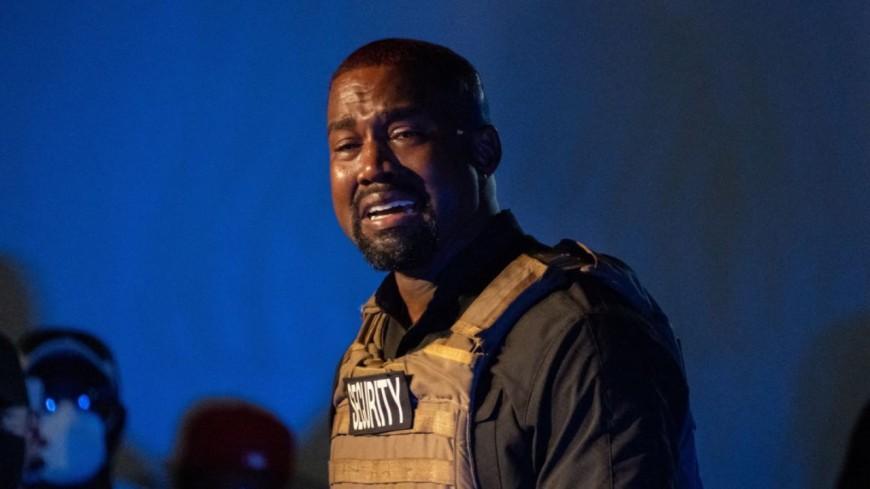 Kanye West en larmes pendant son meeting
