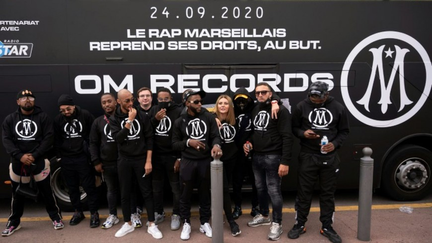 L'OM lance son label de rap !