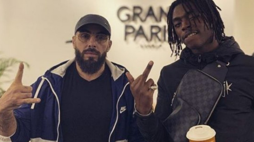 """Médine accompagné de Koba LaD, Oxmo, Larry, Rémy et Pirate sur """"Grand Paris 2"""""""