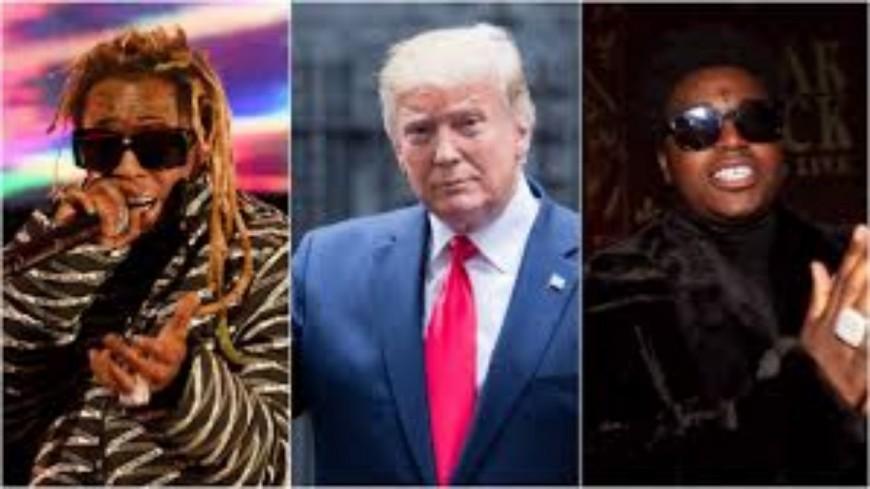 Lil Wayne et Kodak Black graciés par Donald Trump