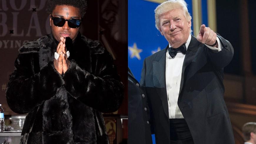 Kodak Black remercie Donald Trump