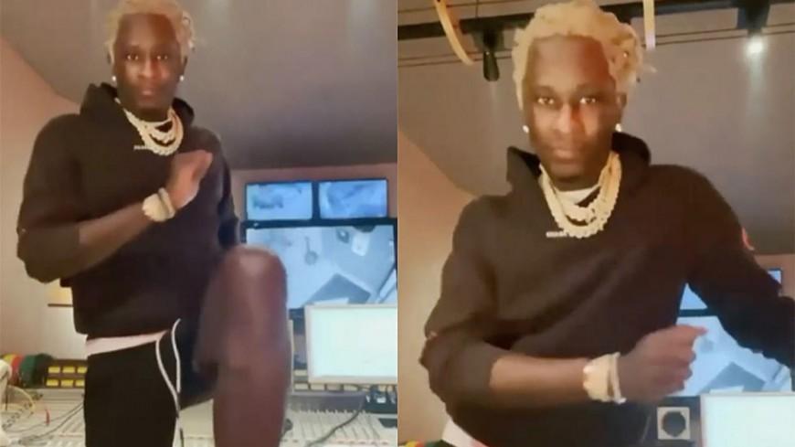 Young Thug : le #SkiChallenge fait des ravages