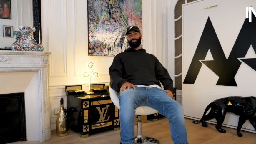 La Fouine pense que le rap français est en avance sur le rap américain