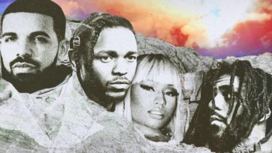 Nicki Minaj récompensée aux côtés de Drake, Kendrick Lamar et J. Cole