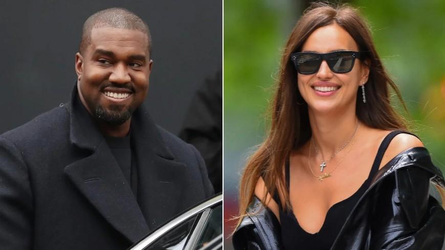 Kanye West en couple avec Irina Shayk !