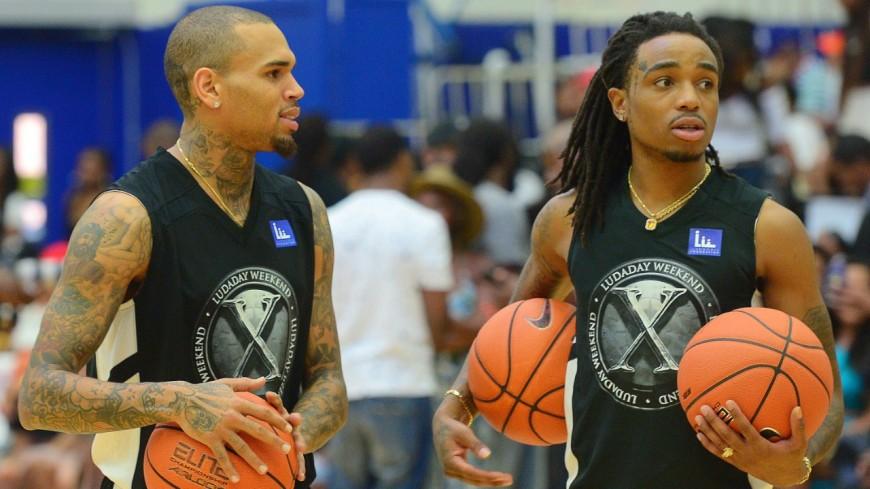 Chris Brown insulte Quavo après sa victoire au basket