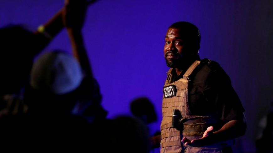 Kanye West : un sac d'air de son show à Atlanta mis en vente à 3000 $ !