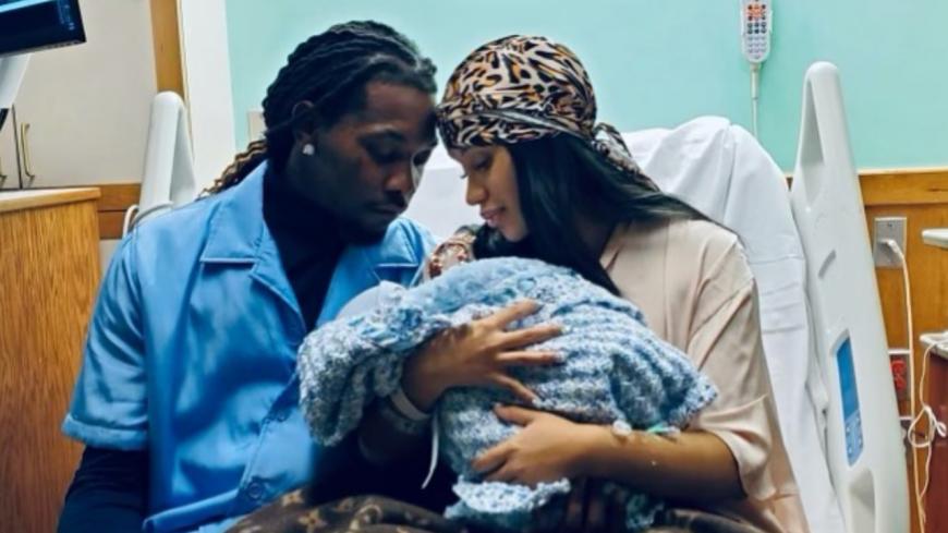 Cardi B et Offset présentent leur deuxième enfant