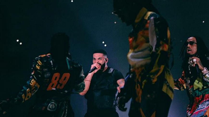 La tournée ''Aubrey & The Three Migos'' de Drake et des Migos vaut de l'or !