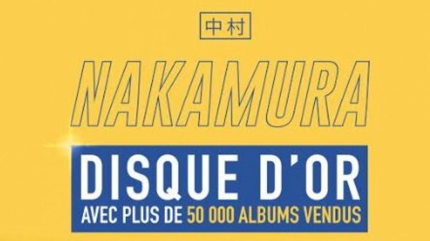 Aya Nakamura décroche le disque d'or avec ''Nakamura'' !