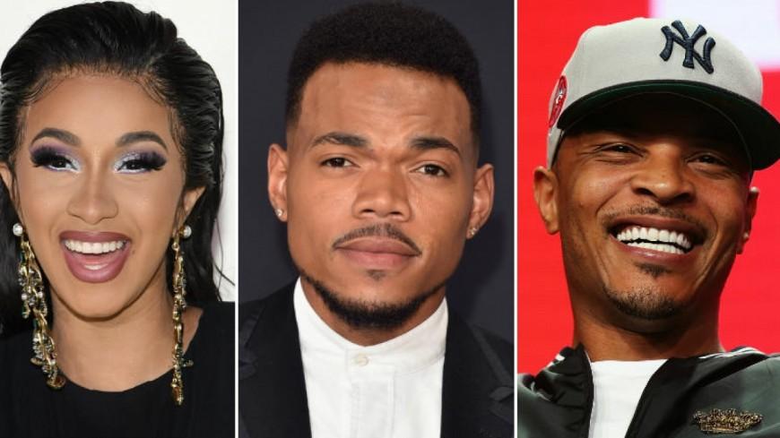 Cardi B, Chance The Rapper et T.I. vont juger une compétition hip-hop !