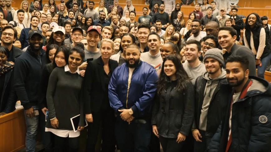 Après Booba, Dj Khaled débarque à Harvard !