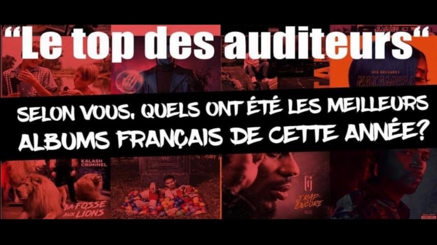 Le Top 10 des Auditeurs de Generations : Rap Français !