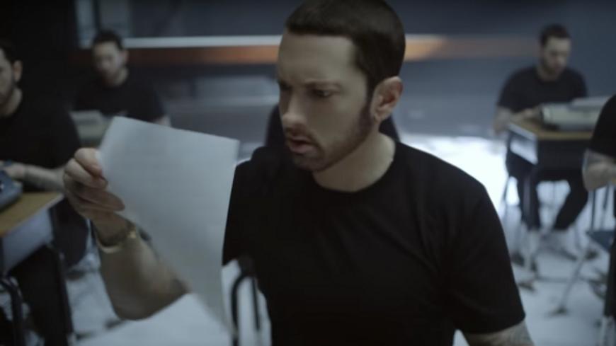 Eminem tease son prochain clip !