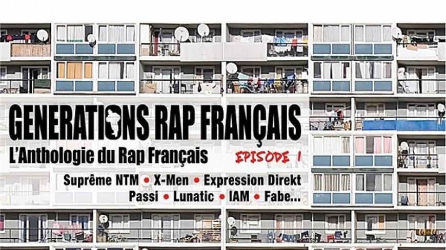 La compilation évènement ''L'Anthologie du Rap Français'' by Générations est enfin disponible !