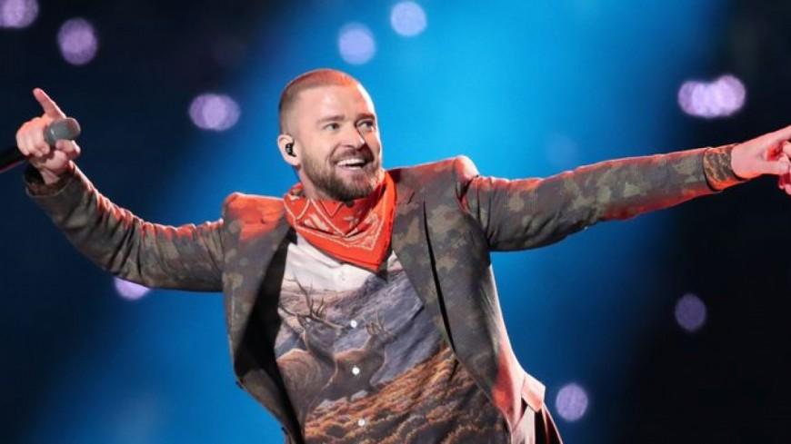 Justin Timberlake a foutu le feu cette nuit lors du Super Bowl 2018 !