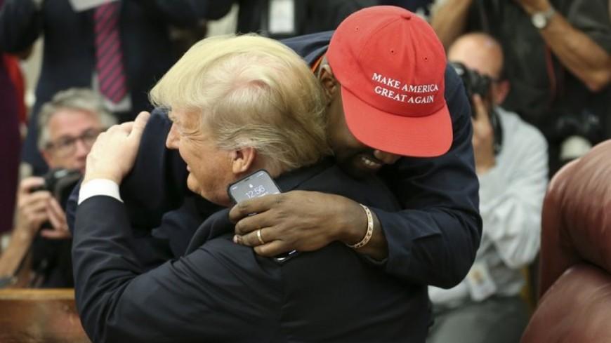 Kanye West plus proche de Trump que jamais après leur rencontre, une vraie ''bromance''