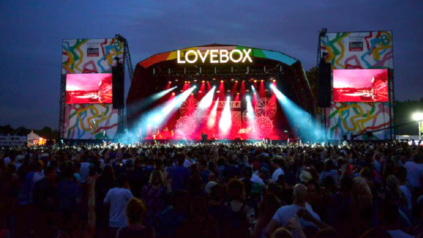 Lovebox ou le festival à ne pas rater !