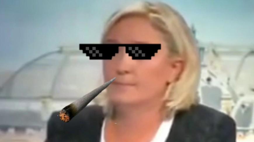 Quand Marine Le Pen valide PNL !