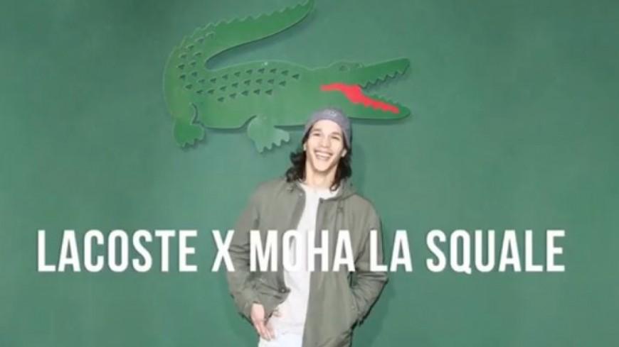 Moha La Squale, designer pour Lacoste !