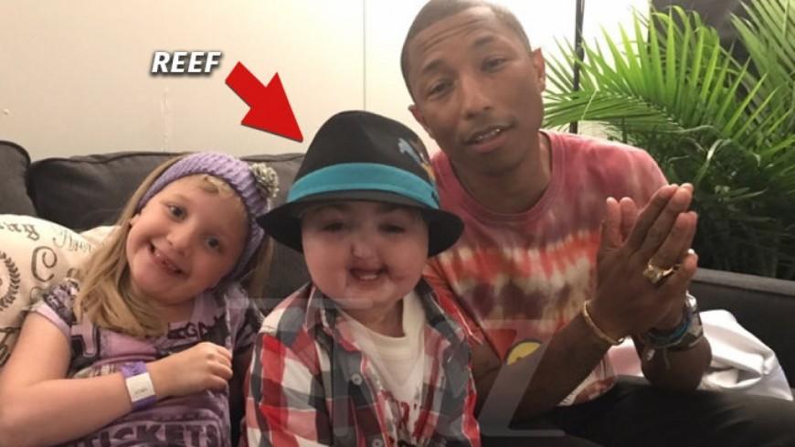 Quand Pharrell Williams réalise le rêve d'un enfant malade !