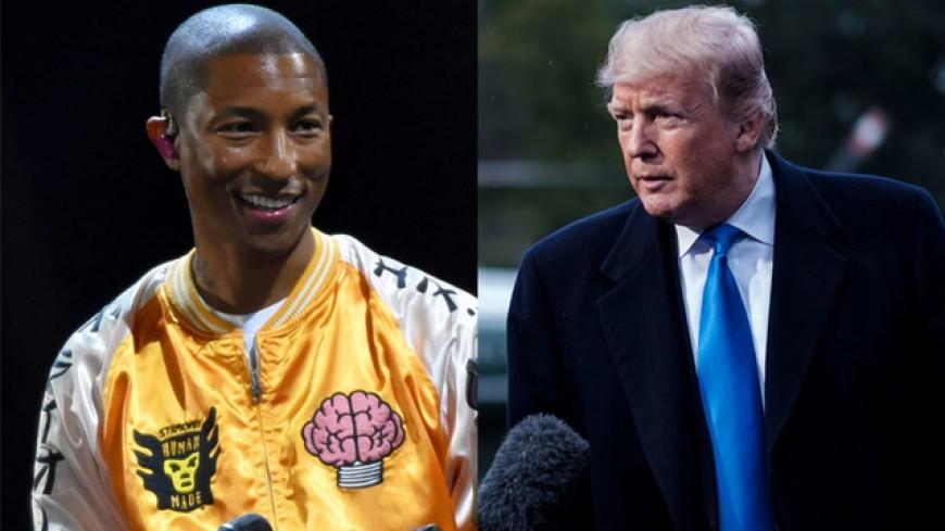 Entre Pharrell et Donald Trump, rien ne va plus!