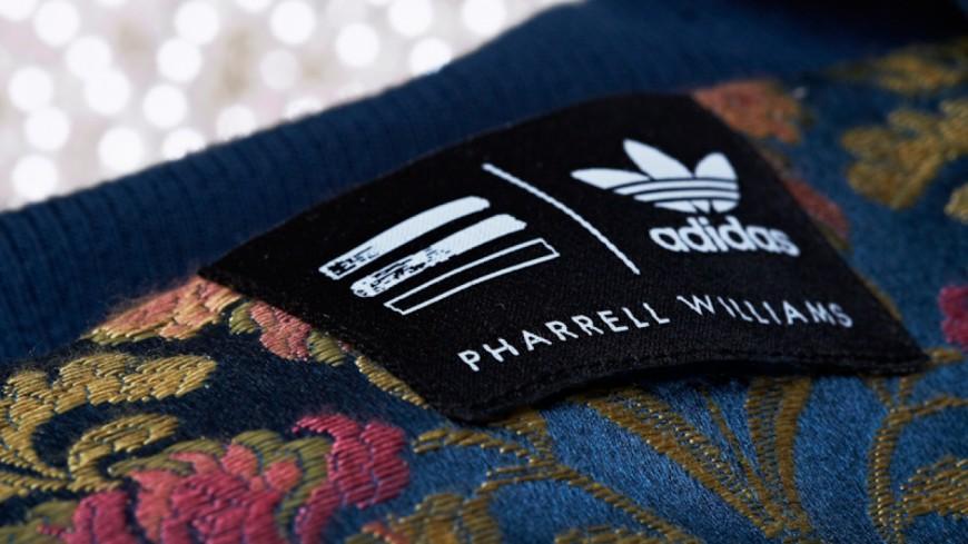 Et voilà la nouvelle collection entre Adidas et Pharrell Williams !