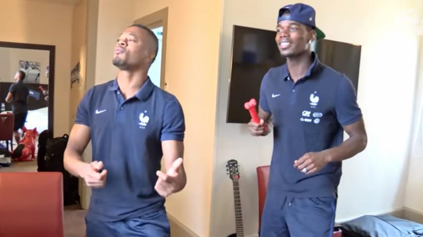 Paul Pogba et Patrice Evra s'enjaillent sur du KeBlack !