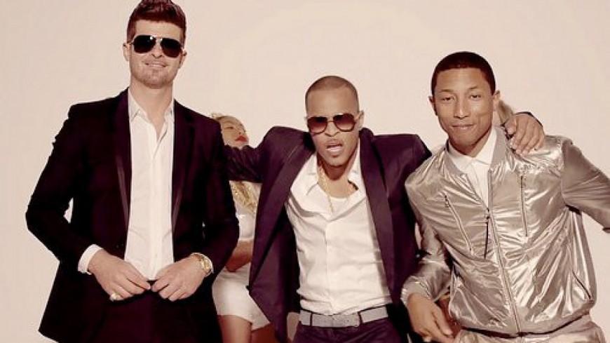 Pharrell & Robin Thicke vs Famille Gaye !!!
