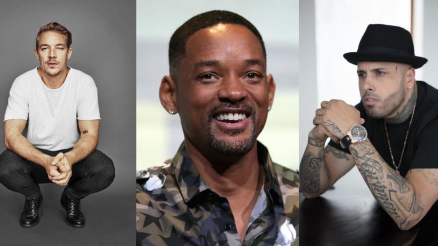 Diplo, Will Smith et Nicky Jam vont interpréter l'hymne de la Coupe du Monde !