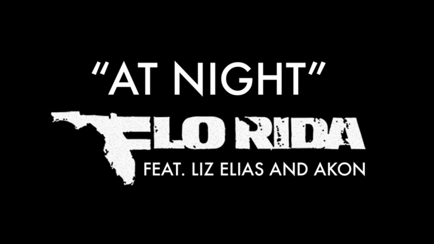 Flo Rida balance ''At Night'', son nouveau titre avec Akon !
