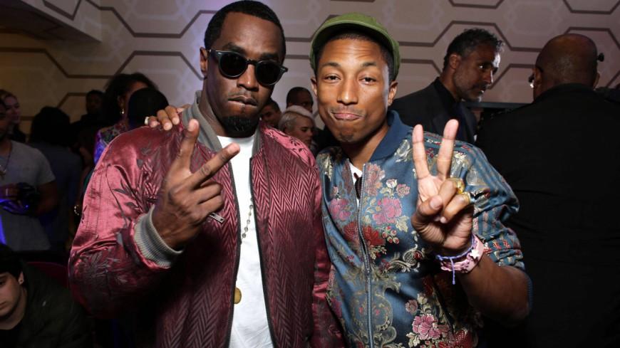 Diddy & Pharrell Williams sur ''Finna Get Loose'' !