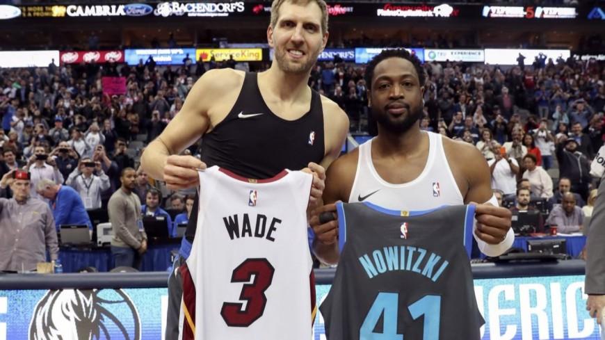 Les dernières de Dwayne Wade et de Dirk Nowitzki devant leurs publics !