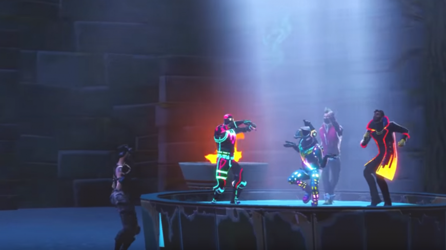 "Le clip Fortnite de ""Que Calor"" de Major Lazern J Balvin et El Alfa !"