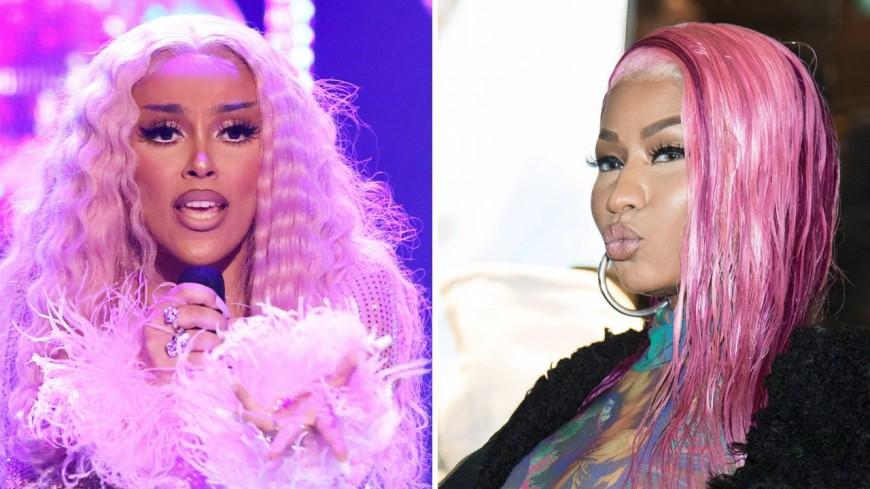 "Doja Cat et Nicki Minaj ""Say So"" Remix"
