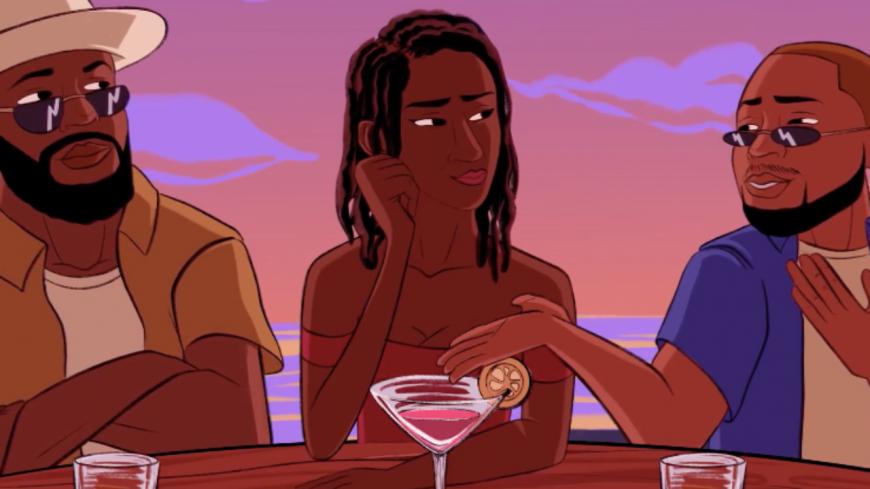 """HIRO et DAVIDO courent après une """"Jolie Nana"""" dans leur clip animé !"""