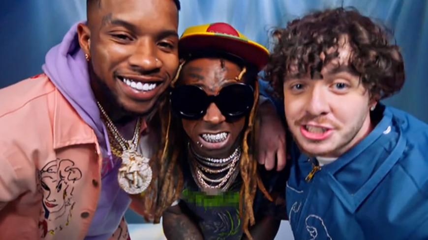 "Jack Harlow, DaBaby, Tory Lanez et Lil Wayne réunis pour ""WHATS POPPIN"""