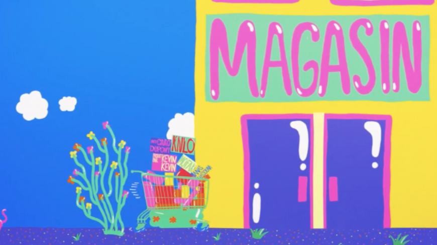 """KNLO fait un tour au """"MAGASIN"""" avec Caro Dupont et Anas Hassouna"""