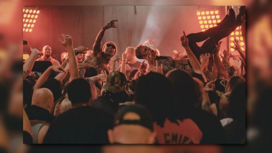 "Yelawolf, Machine Gun Kelly et DJ Paul dans ""Rowdy"""