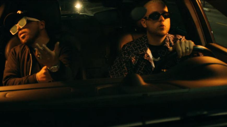 """PLK et Hamza au volant de la voiture dans """"Pilote"""""""