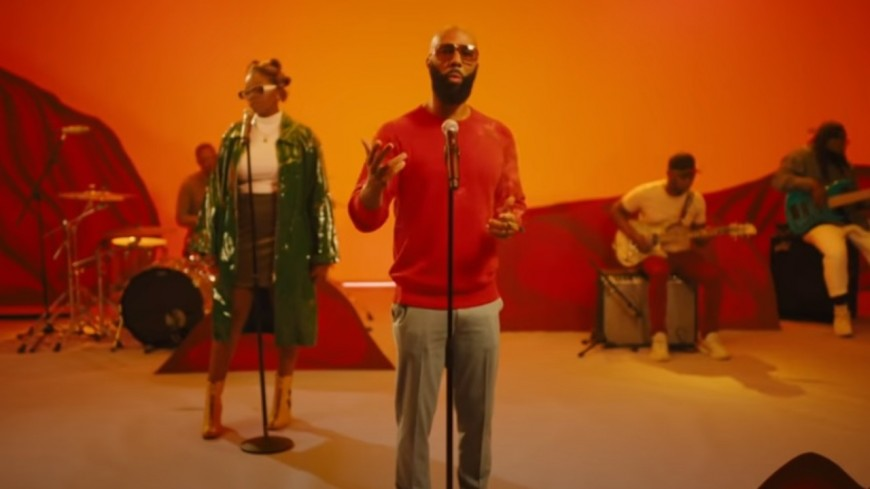 "Common en live pour ""Say Peace"""
