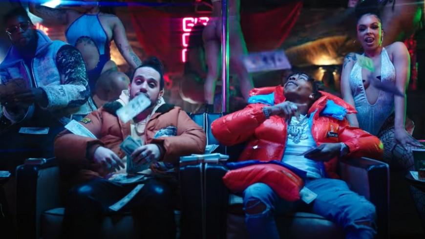 "Russ et Lil Baby en strip club dans ""UGLY"""