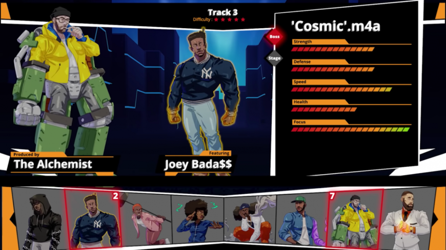 "Denzel Curry et Kenny Beats partagent le remix ""Cosmic.m4a"" avec Joey Badass"