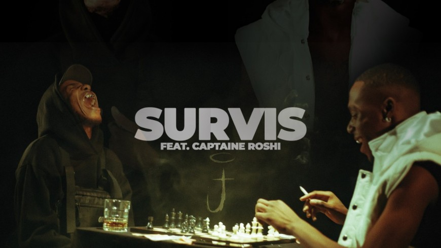 """Josué revient avec un nouveau clip pour une leçon de """"Survis"""" avec Captaine Roshi !"""